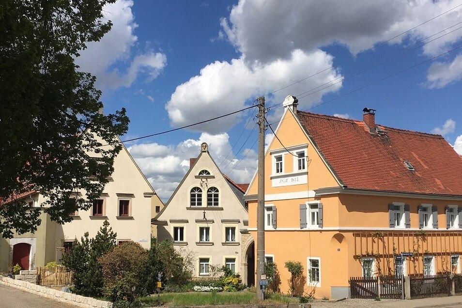 Sanierte Häuser in Boderitz
