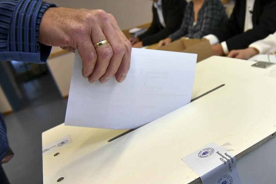 Am 1. September sind die Mittelsachsen an die Wahlurnen gerufen. Ein neuer Landtag wird gewählt.