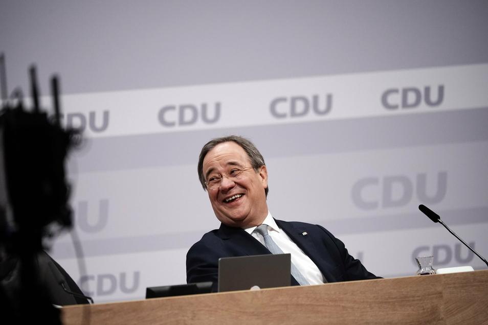 Armin Laschet ist nun offiziell als neuer CDU-Vorsitzender bestätigt worden.