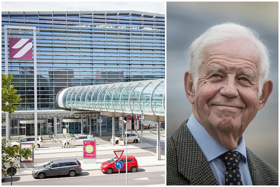 Soll der Dresdner Flughafen künftig den Namen von Kurt Biedenkopf tragen.