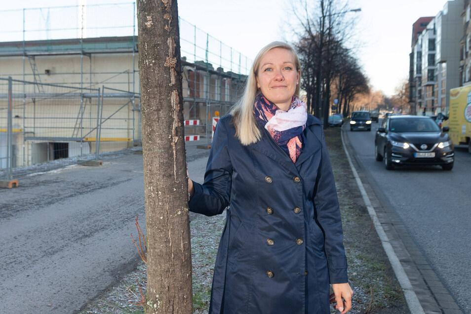 """Laura Girke macht aus dem """"Johannstädter"""" den """"Johann""""."""