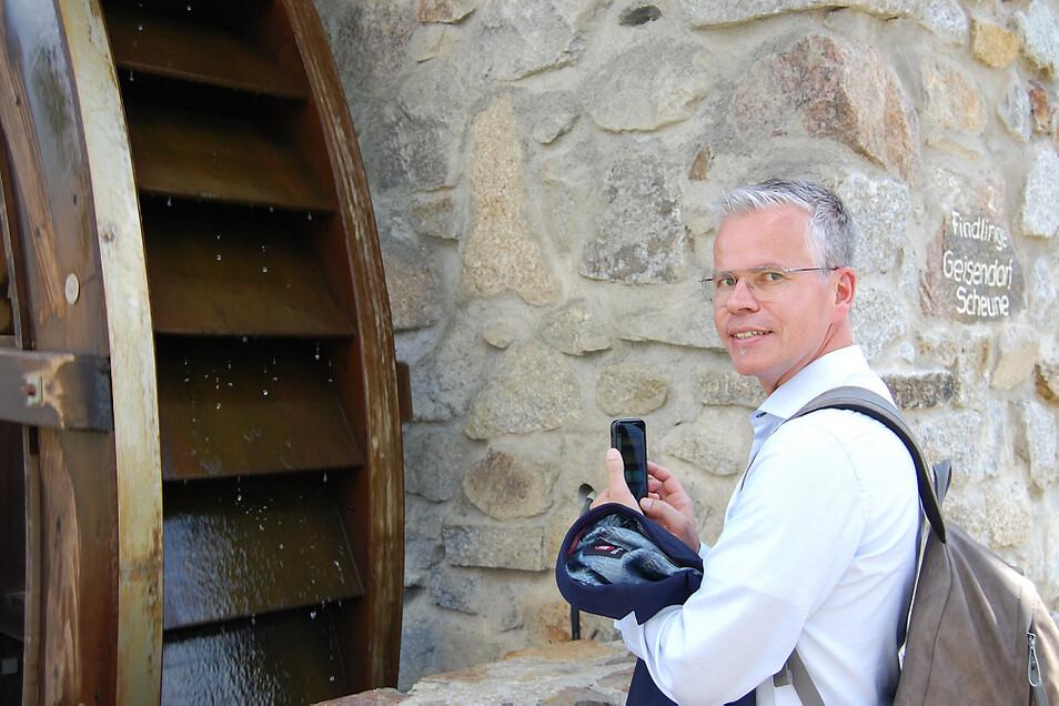 Professor Dr. Klaus Kopka ist Direktor des Institus für Radiopharmazeutische Krebsforschung bei Helmholtz in Dresden.