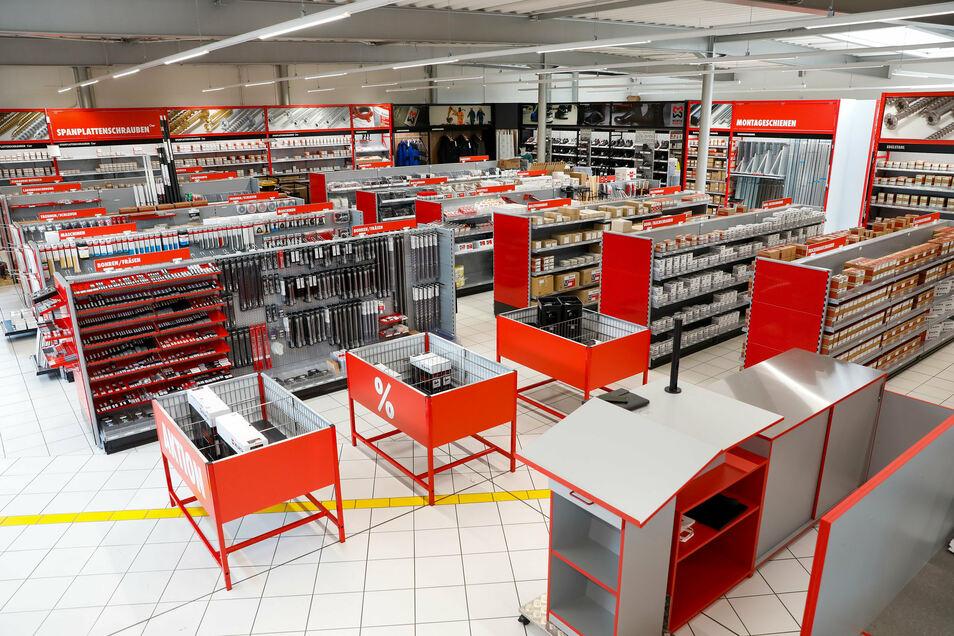 Gut 5.000 Produkte umfasst das Sortiment der Zittauer Würth-Filiale.