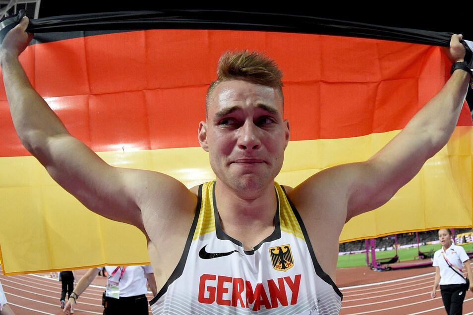 Er ist der Weltmeister, sieht sich aber nicht in der Verteidigerrolle. Johannes Vetter war lange verletzt, hat zuletzt mit einem 90-Meter-Wurf wieder geglänzt.