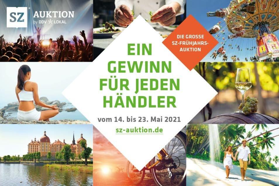 Die sz-auktion bietet Händlern und Dienstleistern aus der Region wieder die Gelegenheit, ihre Produkte und Angebote bekannt zu machen und ersteigern zu lassen.
