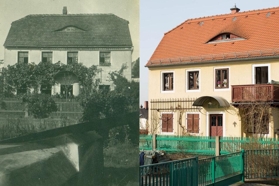 2021 kaufte der Großvater von Eberhard Münzner das schmucke Häuschen in Loschwitz.