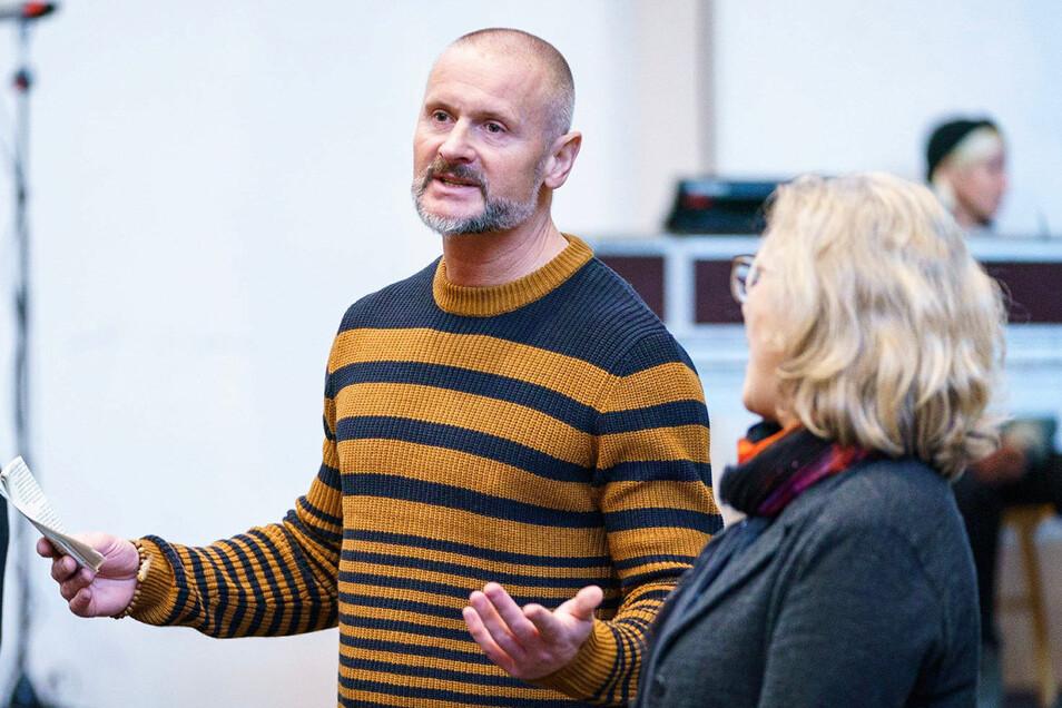 Helge-Björn Meyer kümmert sich um die freie Szene.