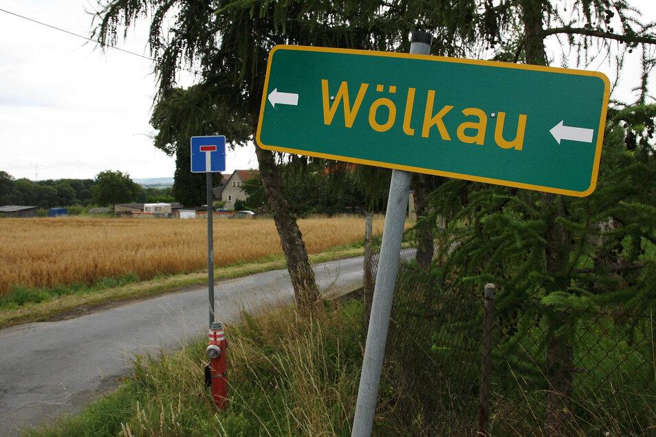 Klein und alt: Heidenaus Stadtteil Wölkau.