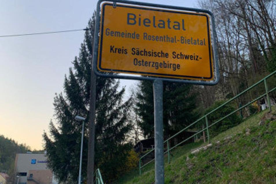 Streich oder Ernst? Wenn Bielatal plötzlich in Königstein liegt.