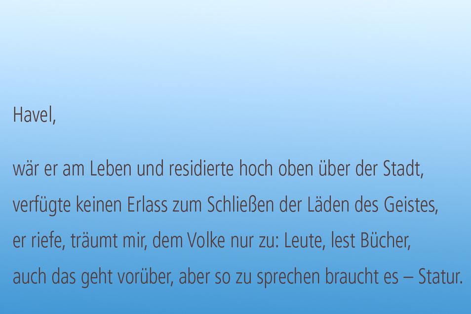 Ein Gedicht von Volker Sielaff