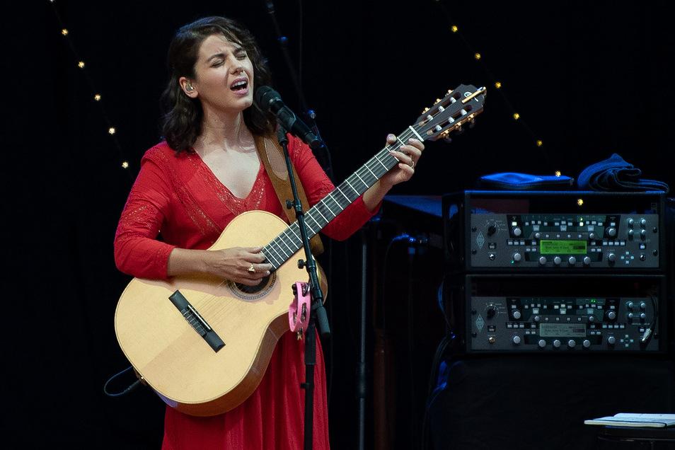 """Katie Melua wurde bekannt durch Lieder wie """"Nine Million Bicycles""""."""