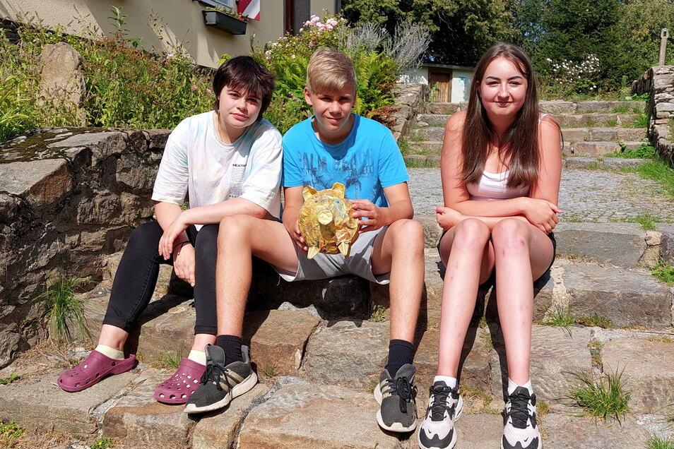 Kathi, Paul, Marie und sieben weitere junge Leute arbeiteten jetzt auf dem Keulenberg zwei Wochen lang an einem Kino-Projekt zum Thema Freundschaft.