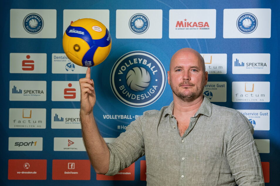 VC-Sportdirektor Sven Dörendahl hofft auf viel Ballgefühl.