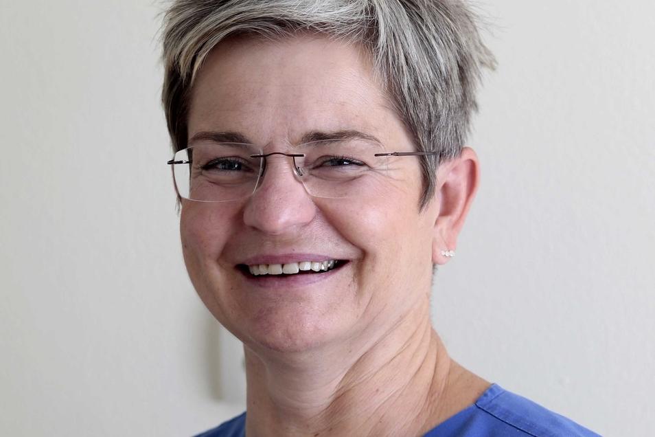 Dr. Cornelia Meißner (53) arbeitet in Kamenz als Fachärztin für Anästhesie und Palliativmedizin.