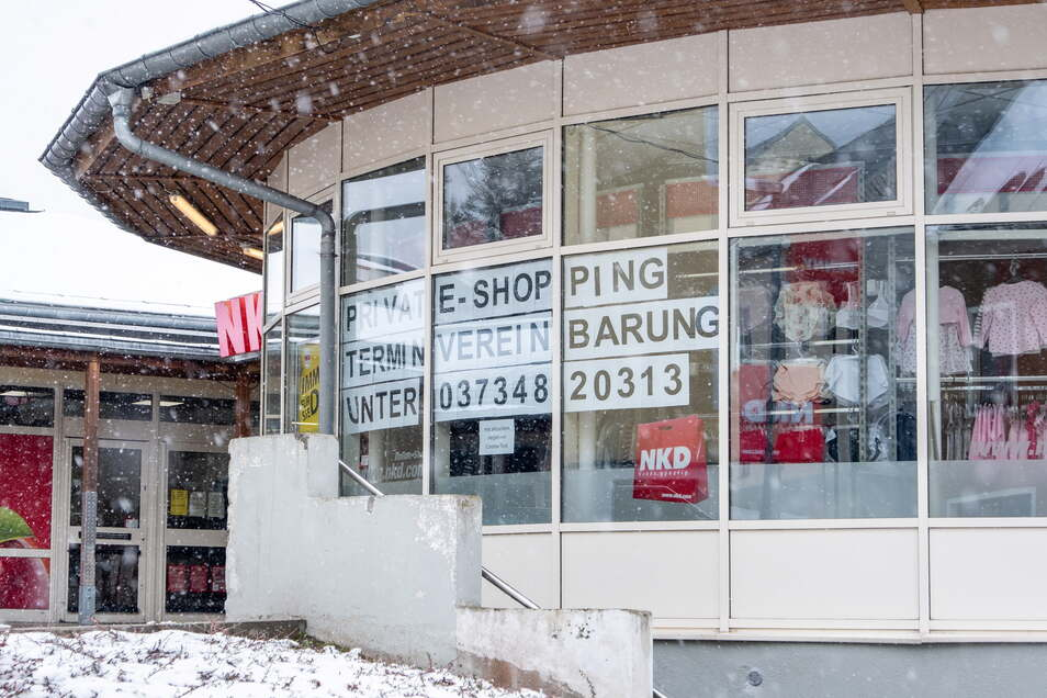 Shopping in Oberwiesenthal? Derzeit nur noch mit Termin.