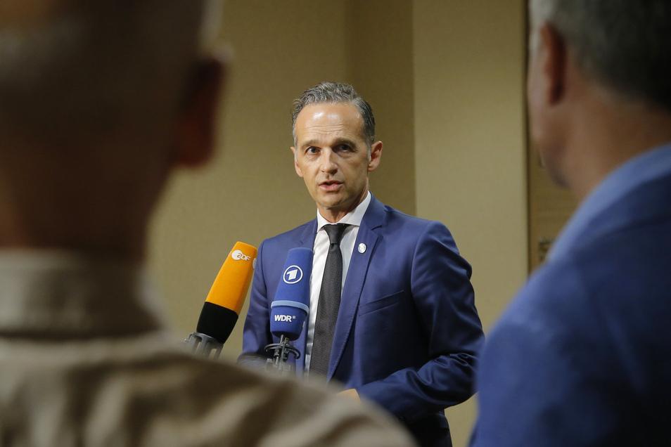 Deutschlands Außenminister Heiko Maas beteiligt sich an einem Kompromiss zur Seenotrettung im Mittelmeer.