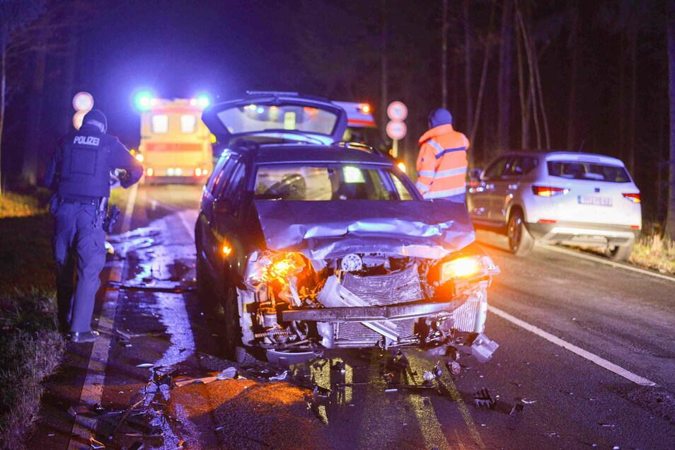 Zwischen Strahwalde und Löbau gab es Samstagabend einen Unfall.