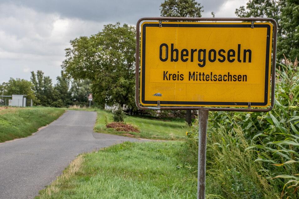 Straße Obergoseln und Strölla Honorarfrei für Produkte von Sächsische.de und Sächsischer Zeitung Foto: Dietmar Thomas