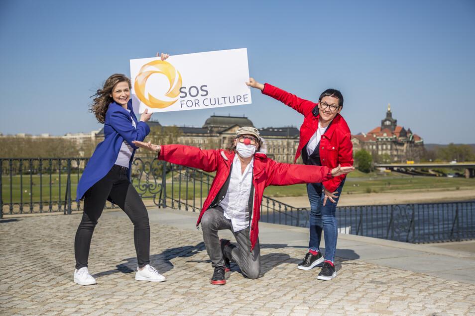 Die Initiative SOS FOR CULTURE möchte verhindern, dass Dresdens Kulturleben durch die Coronakrise ärmer wird.