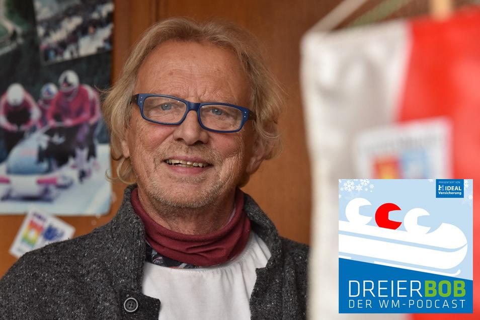 Altenbergs Bürgermeister Thomas Kirsten ist Gast im WM-Podcast Dreierbob.
