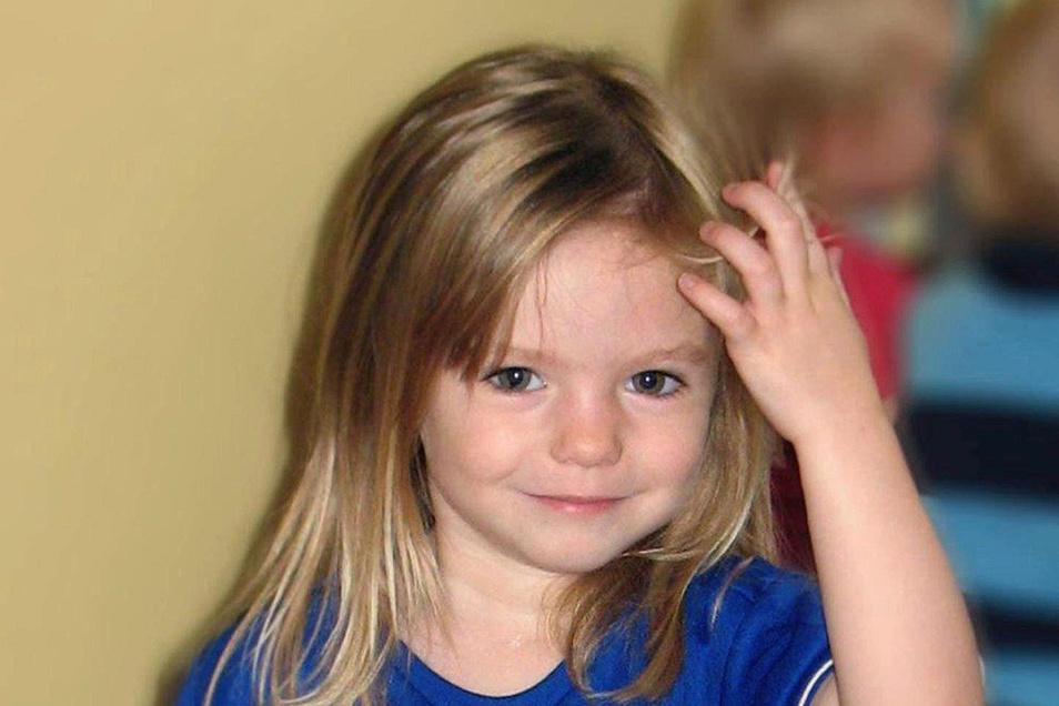 Das damals dreijährige britische Mädchen Maddie McCann verschwand am 3. Mai 2007