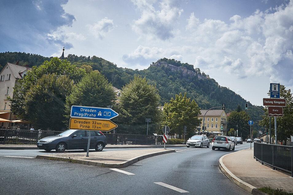 Von der Königsteiner Innenstadt per Bahn hinauf zur Festung. Die Pläne dazu werden erst kommendes Jahr vorgestellt.