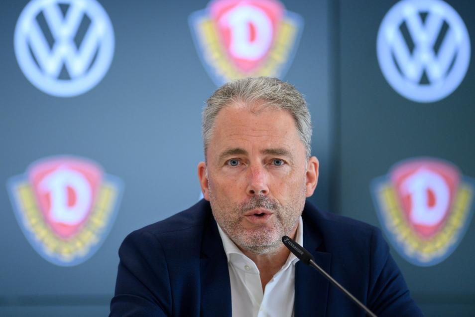 Dynamos Geschäftsführer Jürgen Wehlend hatte bereits bei der Pressekonferenz vor dem Saisonstart in der Gläsernen VW Manufaktur angedeutet, dass die Zuschauerzahl beim Spiel gegen Ingolstadt geringer sein wird als erhofft.
