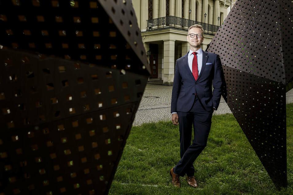 Ab der kommenden Spielzeit wird Daniel Morgenroth das Gerhart-Hauptmann-Theater als Generalintendant leiten. Er lebt bereits in Görlitz.