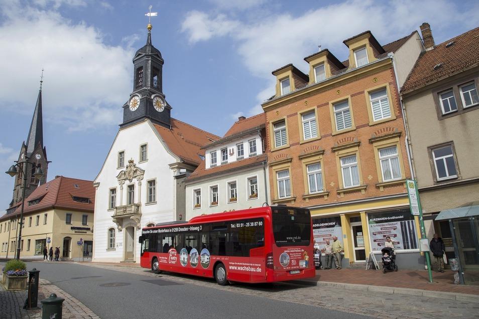 Die Busverbindungen zwischen Wilsdruff und der Landeshauptstadt müssen noch besser werden. Es gibt Idee, beide Städte mit einer Straßenbahn zu verbinden.