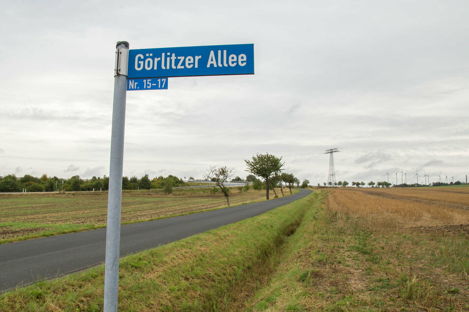 Unter den Straßen, die demnächst instand gesetzt werden sollen, ist auch die Görlitzer Allee in Kodersdorf.