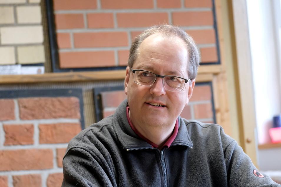 Ralf Huber, Geschäftsführer des Ziegelwerkes Huber im Nossener OT Graupzig, hat sich in der Denkmalspflege einen Namen gemacht.
