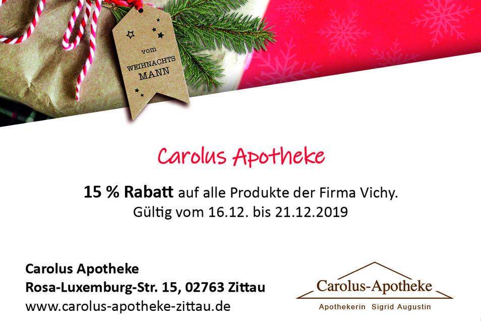 Carolus-Apotheke,Rosa-Luxemburg-Straße 15, 02763 Zittau