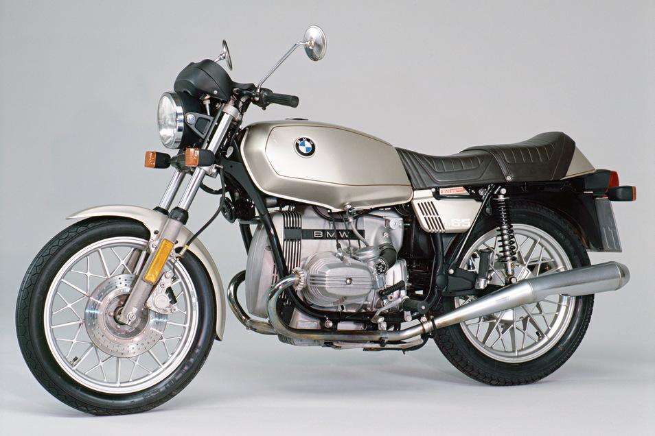 Die BMW R 65 mit Boxermotor begann ihre Karriere Ende der 1970er-Jahre.