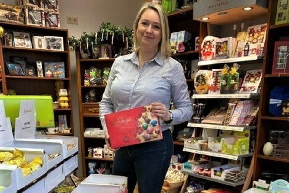 """Claudia Kurzmann, die Inhaberin von """"Tee und Pralinee"""", hat das verflixte erste Jahr überstanden."""