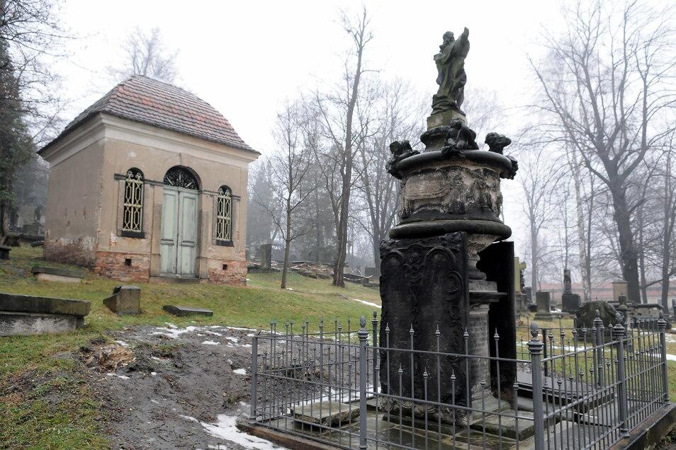 Epitaph von Georg Emmerich in der Familiengruft der Emmerichs auf dem Görlitzer Nikolaifriedhof.