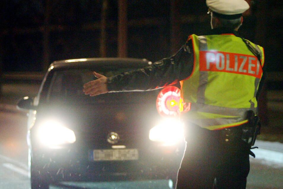 Riesaer Polizeibeamte hielten am Donnerstag einen Audi an. Die Fahrerin stand unter Betäubungsmitteleinfluss.