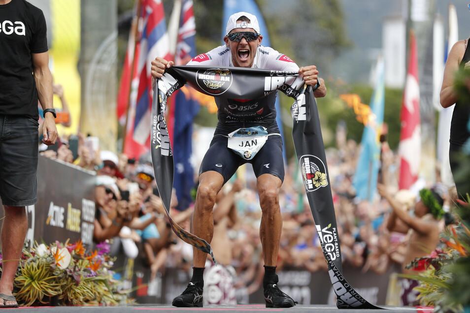 Jan Frodeno ist dreifacher Ironman-Gewinner. Er siegte 2015, 2016 und 2019.