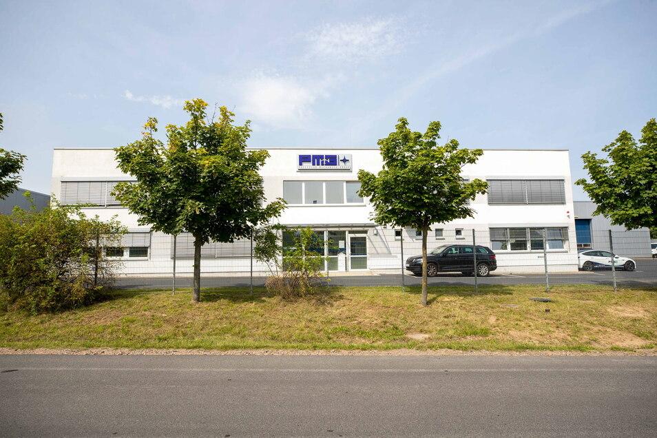 Der Präzisionsteilehersteller PMG arbeitet im Wilsdruffer Gewerbegebiet Hühndorfer Höhe.