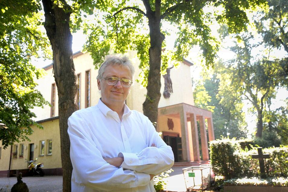 Als Hauptrisiko für das Städtische Bestattungswesen Meißen sieht Chef Jörg Schaldach die sinkende Kaufkraft der Hinterbliebenen.