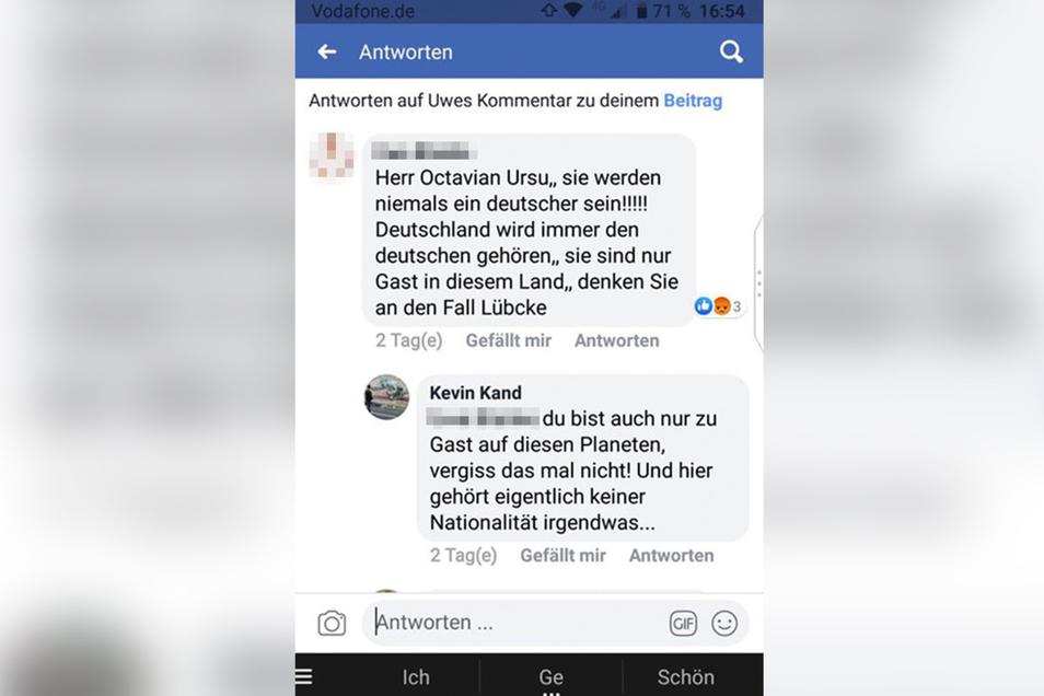 Hier wird auf den Mord am Kasseler CDU-Politiker Walter Lübcke verwiesen.