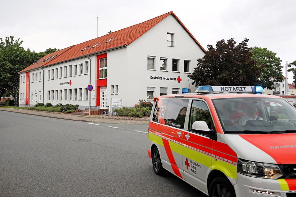 Momentan ist die Rettungswache Riesa-Mitte noch beim DRK an der Külzstraße untergebracht.