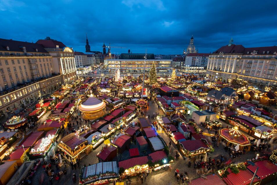 Der Dresdner Striezelmarkt kann in diesem Jahr stattfinden.