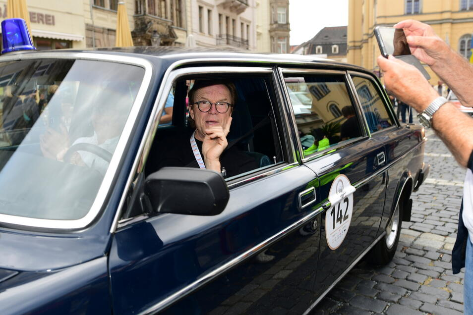 Der prominenteste Teilnehmer Wolfgang Lippert nahm sich viel Zeit für seine Fans.