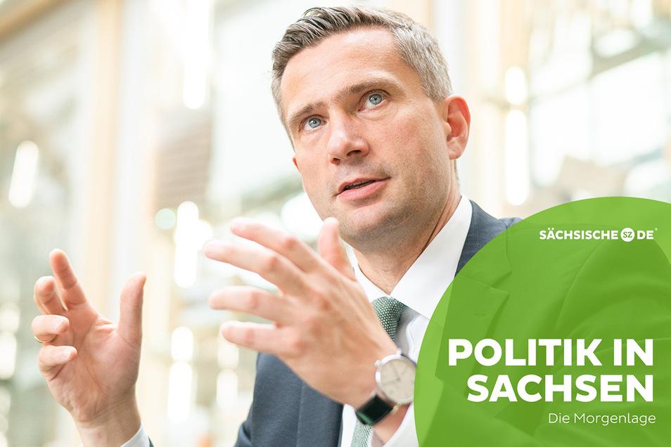 """""""Das Bildungsticket kommt"""": Sachsens Wirtschaftsminister Martin Dulig widerspricht dem Finanzminister."""
