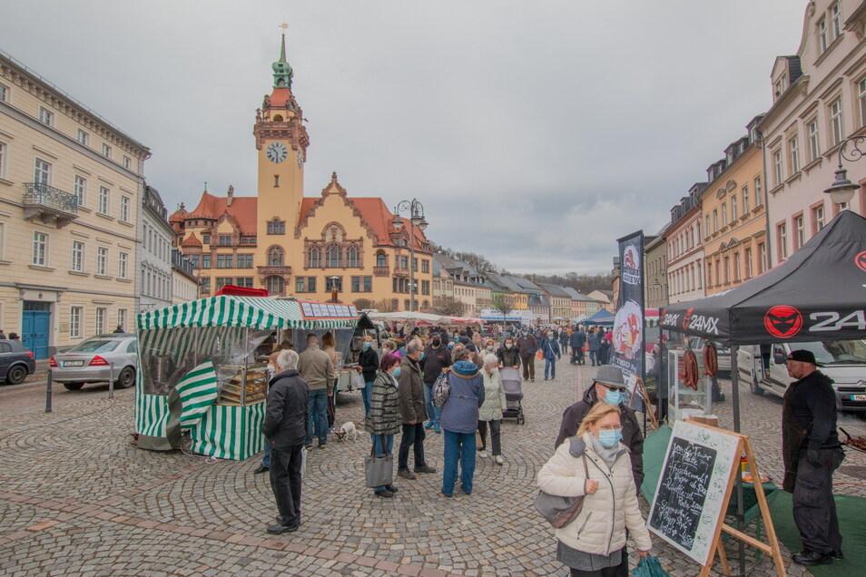 Der erste Waldheimer Frischemarkt im April war gut besucht. Jetzt gibt es eine Neuauflage.