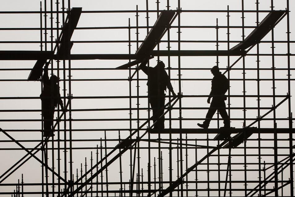 Auch im Baugewerbe sind niedrige Löhne weit verbreitet.