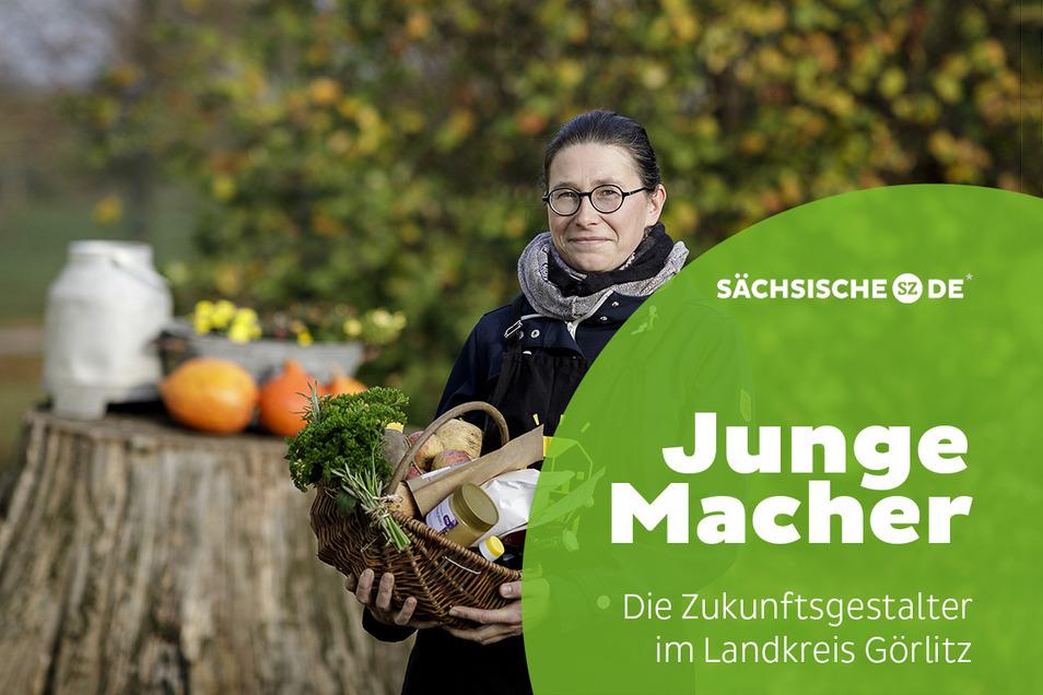 """Anne Ritter-Hahn betreibt seit einem Jahr die """"Görlitzer Marktschwärmerei""""."""