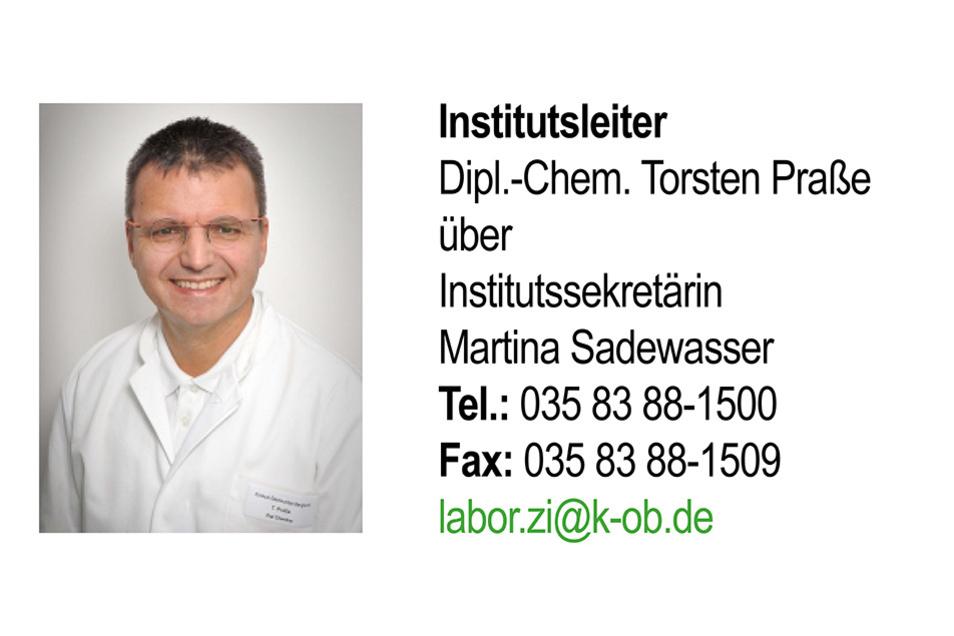 INSTITUT FÜR LABORATORIUMSMEDIZIN |Klinische Chemie, Transfusionsserologie, Hämatologie und Hämostaseologie, Mikrobiologie