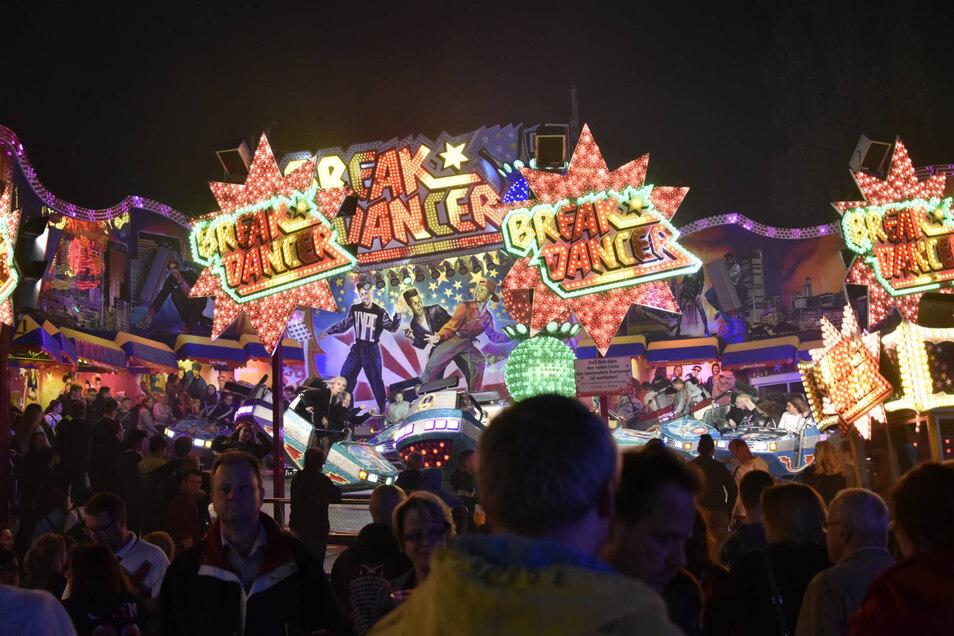 Zehntausende Besucher erlebten am Fuße des Windberges das gleichnamige Fest. Die Stadt zeigte sich mit der Resonanz zufrieden.