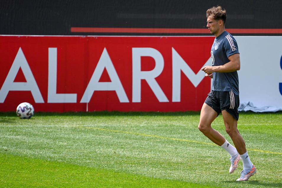 Am Donnerstag ist Leon Goretzka wieder ins Mannschaftstraining eingestiegen. Das deutsche Auftaktspiel gegen Frankreich kommt aber noch zu früh.